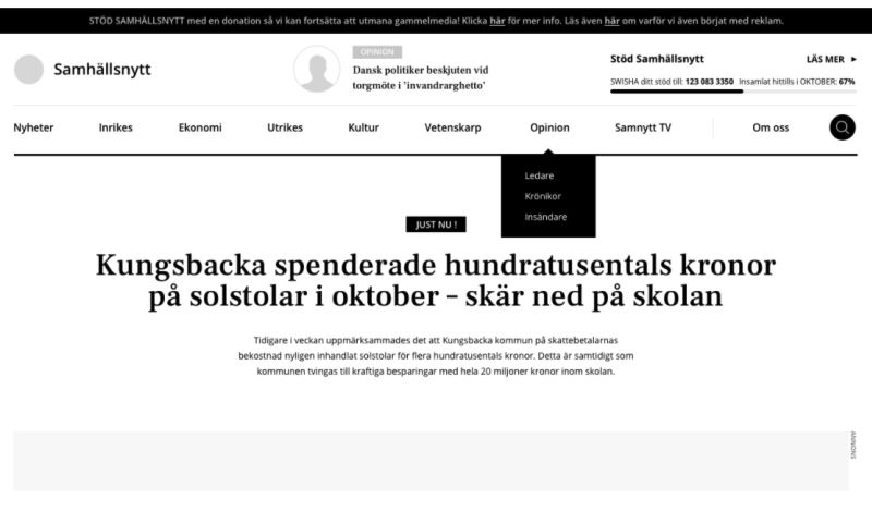 Pagepro - Samnytt Newsportal