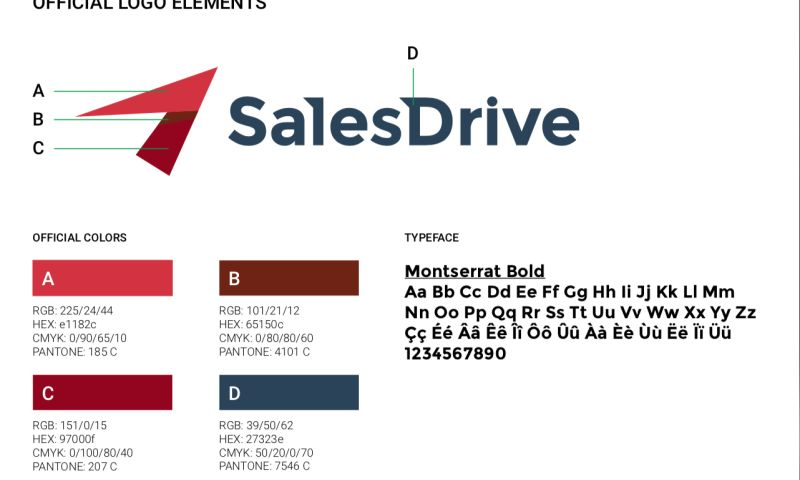 Play Creative Lab - SalesDrive Brand Identity Design