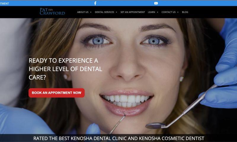 Dental Marketing Heroes - Dental Website - Pat Crawford DDS