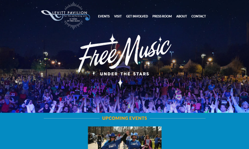 Thrive Agency - Levitt Pavilion for the Performing Arts