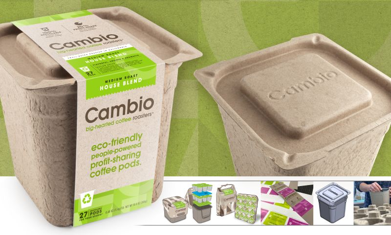 Product Ventures - Cambio Roasters Biodegradable Package