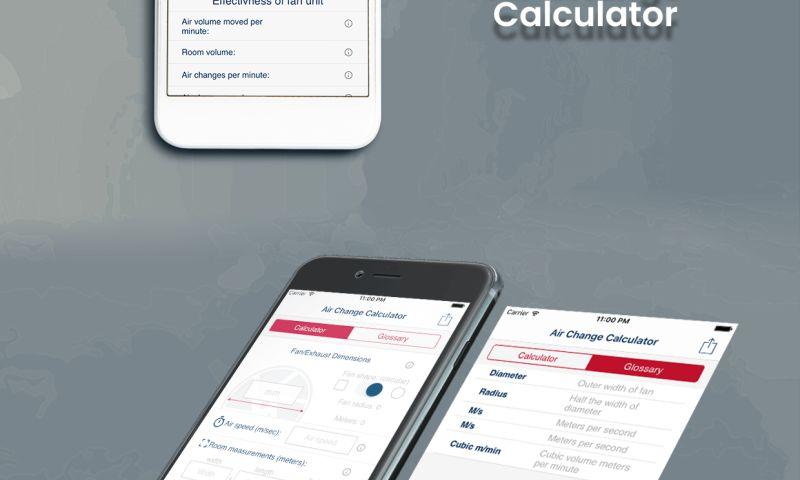 WeDoWebApps - Air Change Calculator