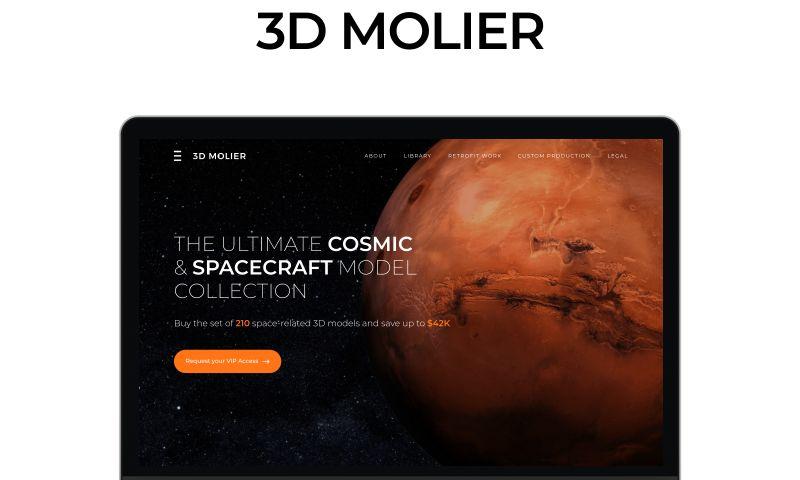 Shakuro - 3D Molier