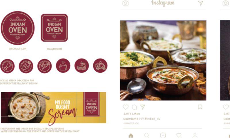 Merch Interactive - Indian oven