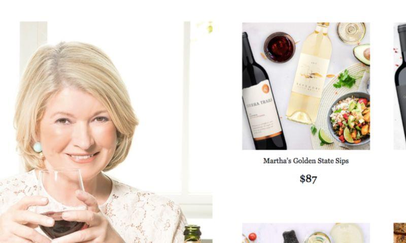electrIQ marketing - Martha Stewart Wine Co. Case Study