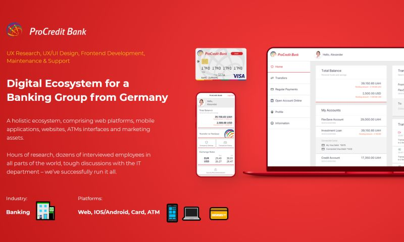 Artkai - Digital Ecosystem for a Banking Group from Germany