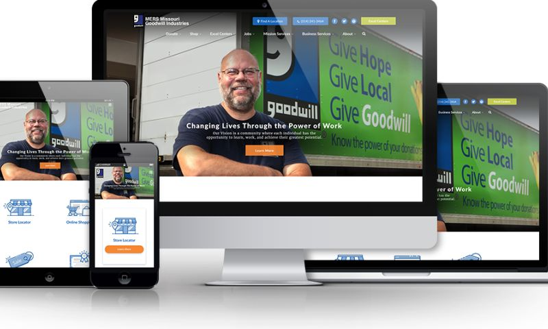 Beanstalk Web Solutions - MERS Goodwill Website
