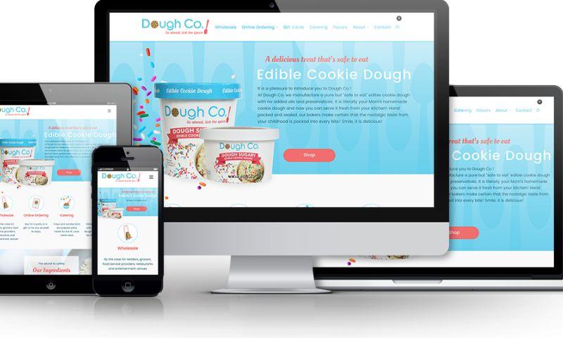 Beanstalk Web Solutions - Dough Co. Website