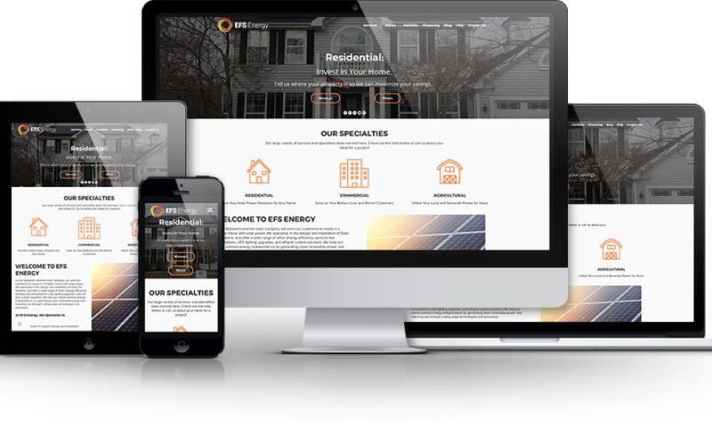 Beanstalk Web Solutions - EFS Energy Website