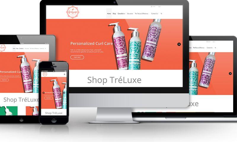 Beanstalk Web Solutions - Treluxe Website