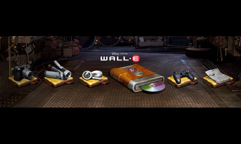 The Skins Factory - Disney Pixar's WALL-E Icon Set