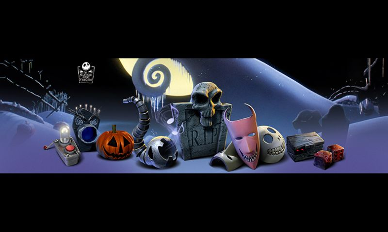 The Skins Factory - Nightmare Before Christmas Icons