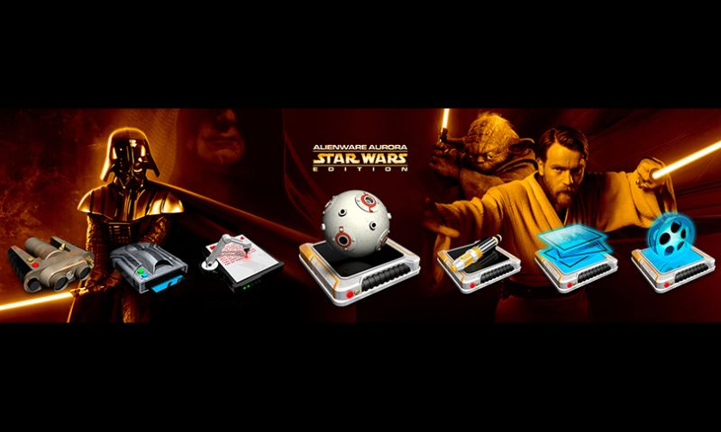 The Skins Factory - Alienware: Star Wars Icon Set