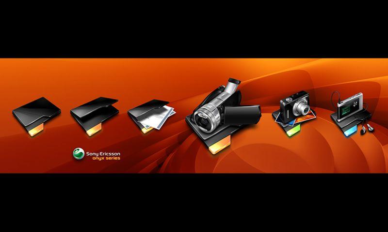The Skins Factory - Sony Ericsson Icon Set