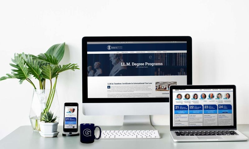 HyperX Design - Georgetown University (IIEL) - Web design