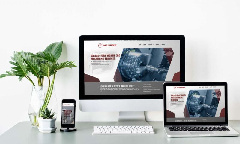 HyperX Design - Manufacturing Website Design & SEO Services (FTC Industries)