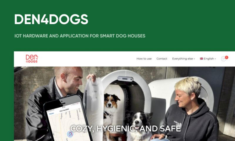 Oriented AS - IоT hardware and application for Smart DogHouses