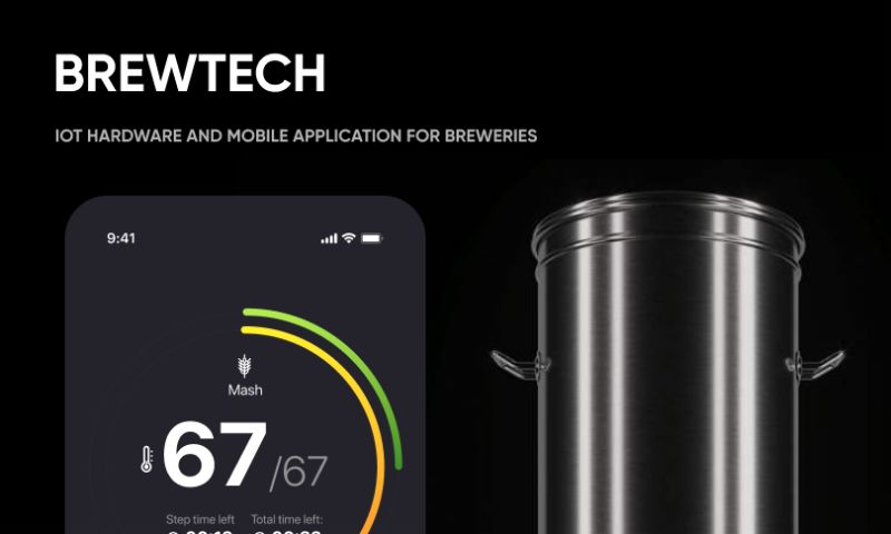 Oriented AS - IоT hardware and mobile application for breweries