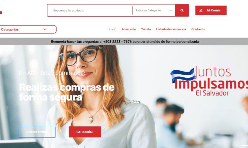 ROOTS INC - Ecommerce Banco Atlantida of Honduras and El Salvador
