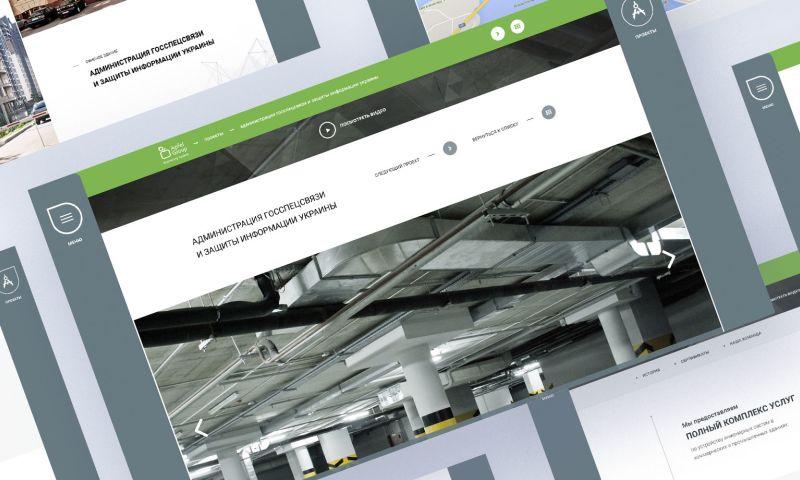 Sparkle Design - Apfel Group website