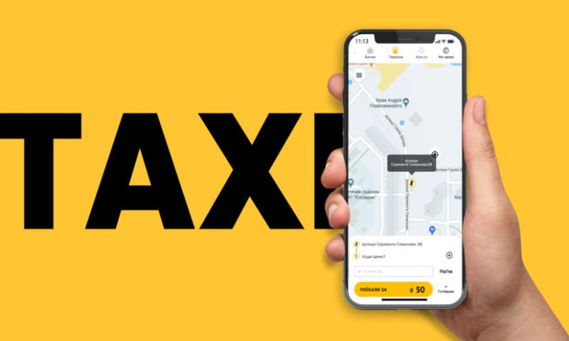 TRIARE - Mobile development for taxi business