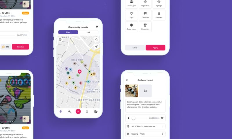 TRIARE - B2G community-focused mobile app development for local municipalities