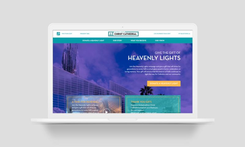 TRIARE - An E-Commerce Solution For a Catholic Cathedral in California
