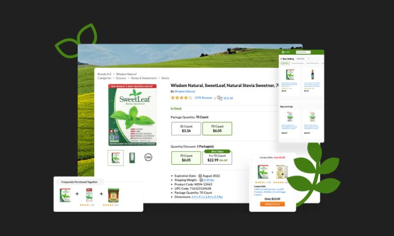 QArea - Global Online Natural Products Retailer