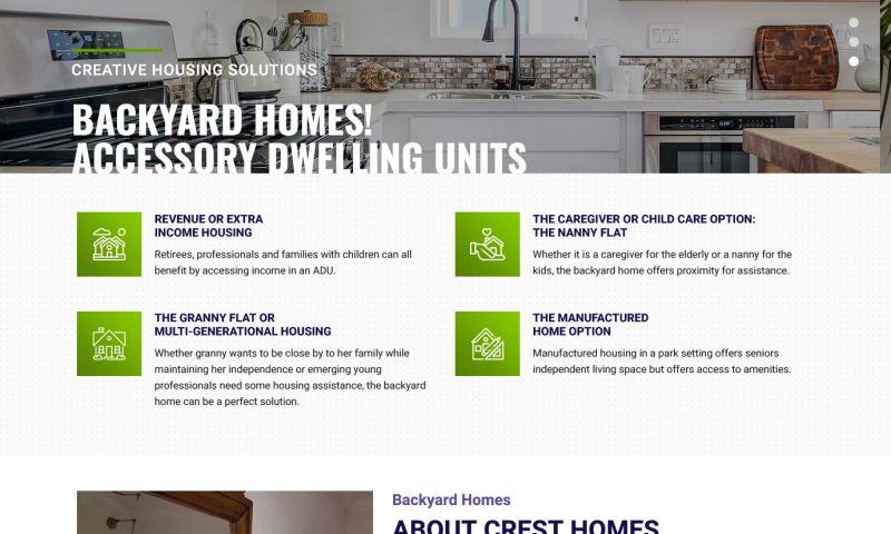 Caldiatech - Crest Backyard Homes