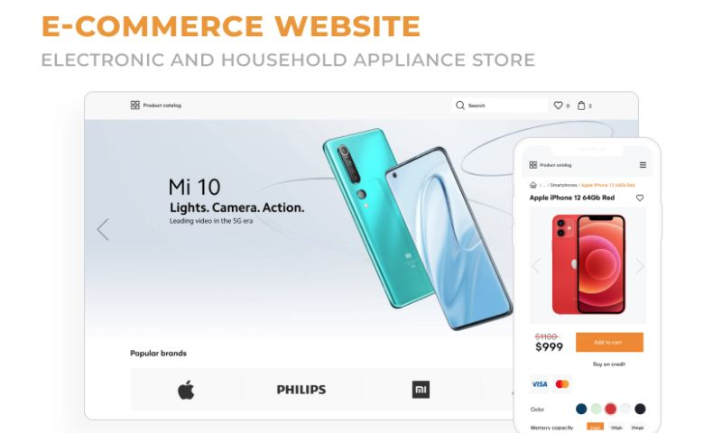 2muchcoffee - eCommerce Website