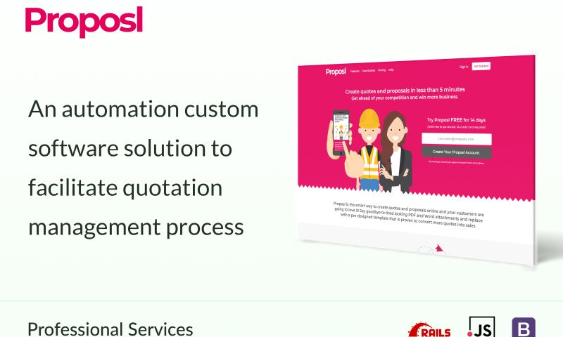 System Plus - An automation custom software solution to facilitate quotation management process