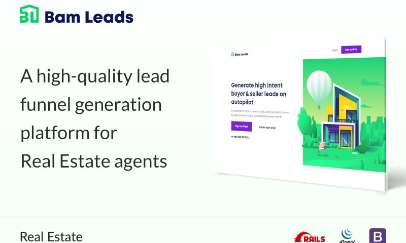 System Plus - A high-quality lead funnel generation platform for Real Estate agents