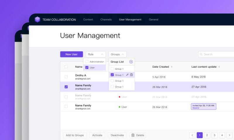 Exposit - Team Collaboration App