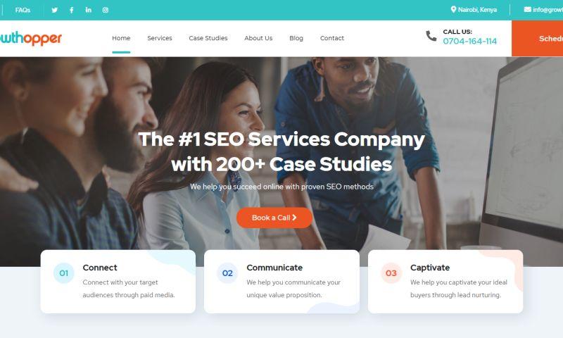 Qodewire - Digital Marketing Agency Website