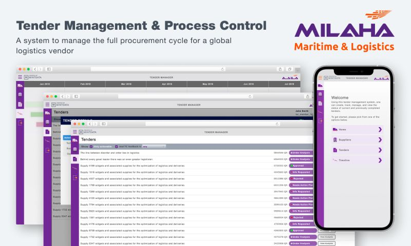 SiliconMint - Tender Management & Process Control