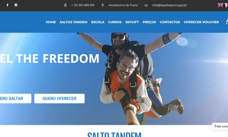 SmartLinks - Skydiving company WooCommerce Website Development