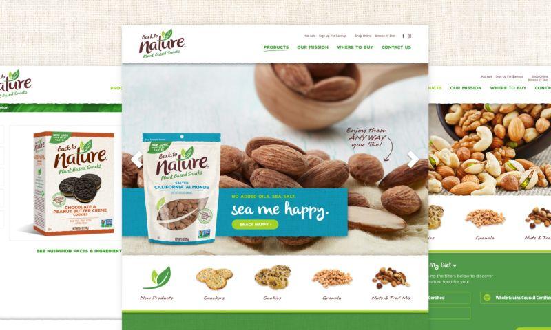 Digital Yalo - Back to Nature website
