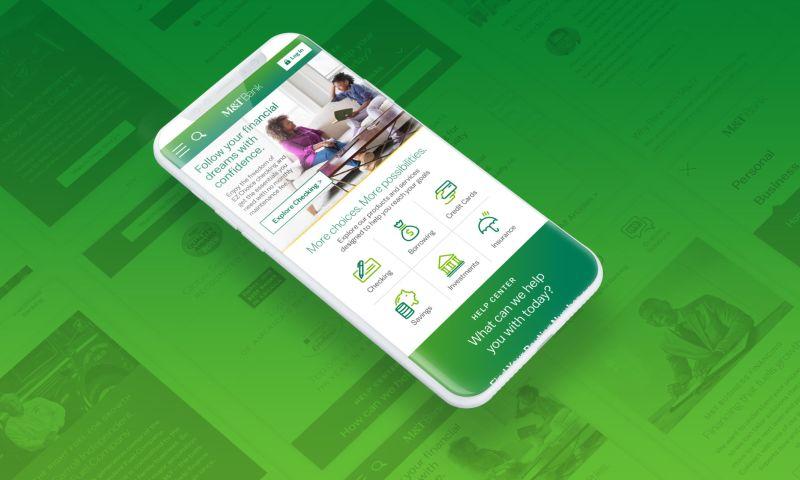 Digital Yalo - M&T Bank website