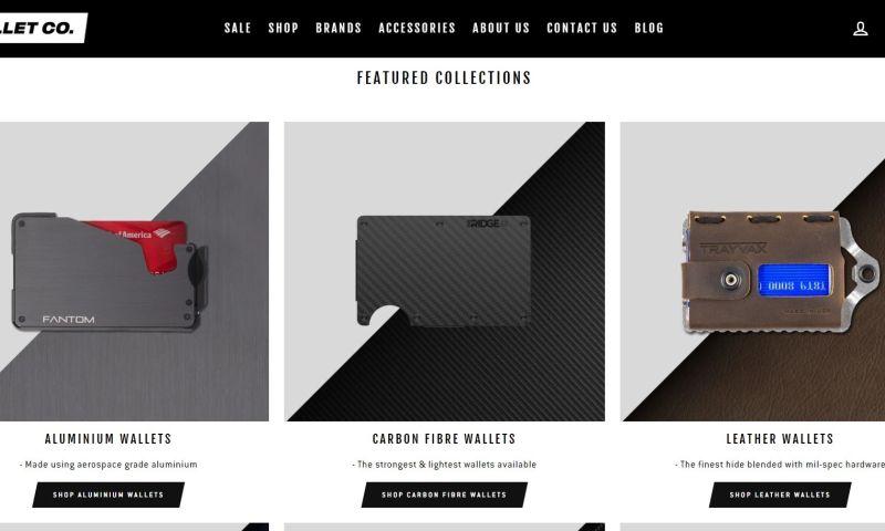 CSSChopper - The Wallet: eCommerce Website Development