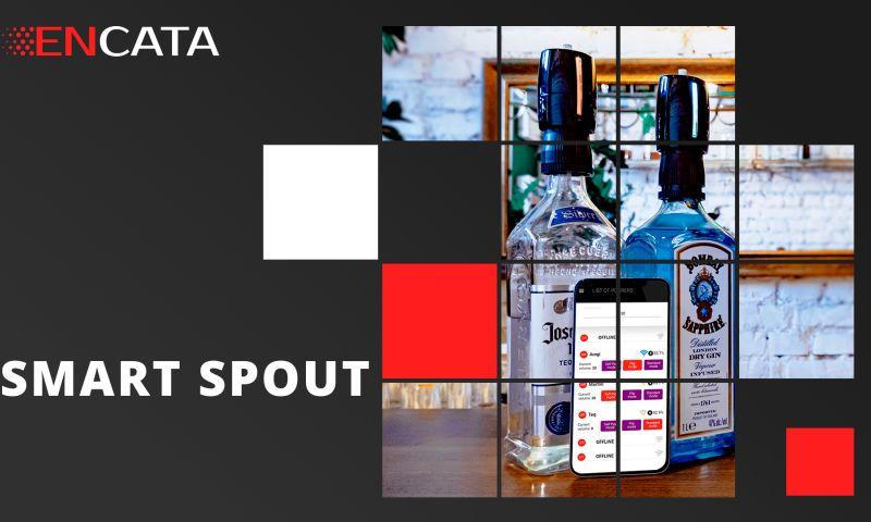 EnCata - Bartender smart spout IoT device