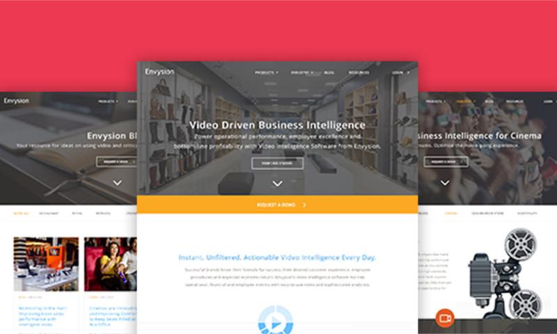 Parallel Path - Envysion Website Re-design