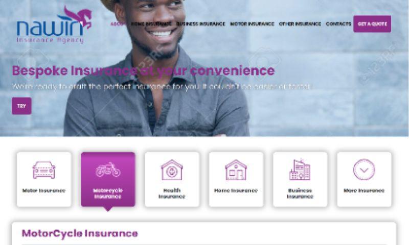 Calvary Studio - Nawiri - Insurance Website & Portal