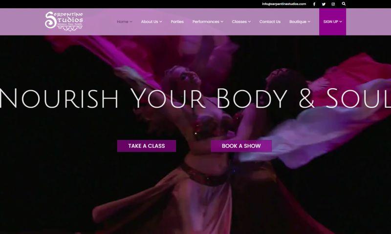 Web by Craig - Serpentine Studios - Dance School