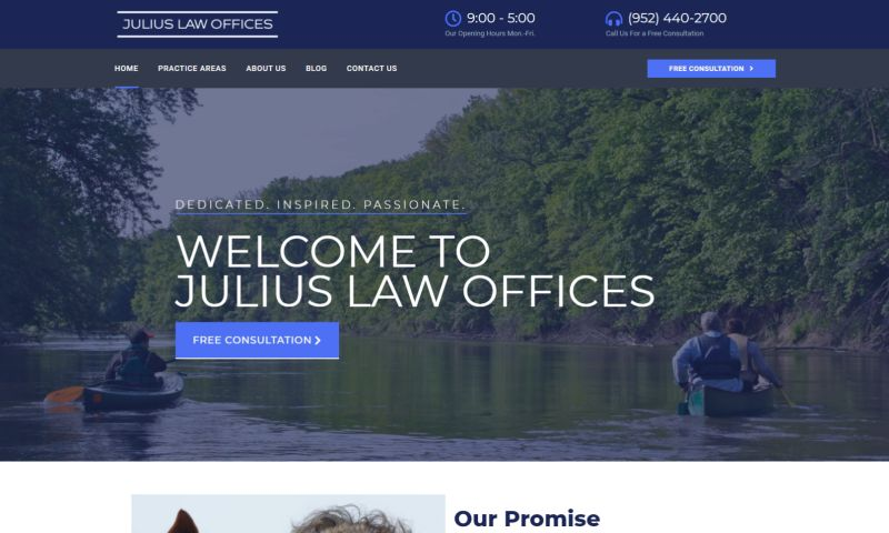 Steve The Website Guy - Julius Law Offices