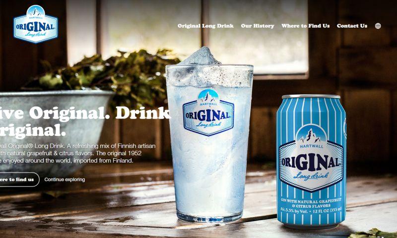 Vantage Communications - US Website - Hartwall Original Long Drink