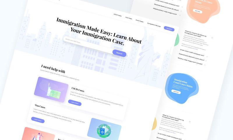 Webpop Design - ImmigrationCases.org