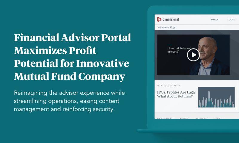 Praxent - Financial Advisor Portal for Dimensional Fund Advisors