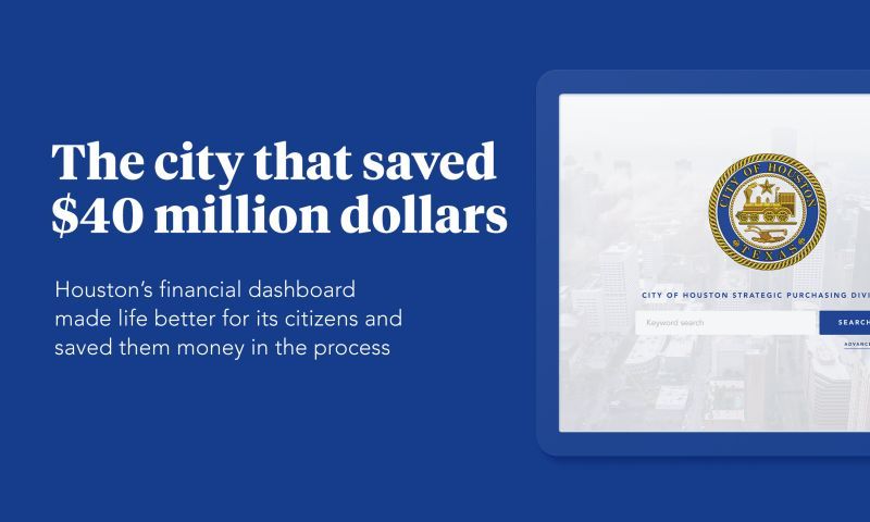 Praxent - Custom software increases financial transparency for the entire City of Houston