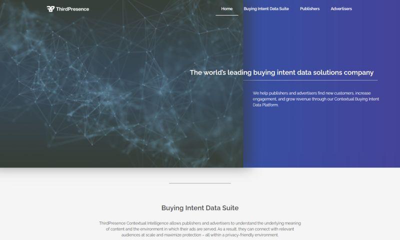 Sisu Digital - Web Design For Thirdpresence