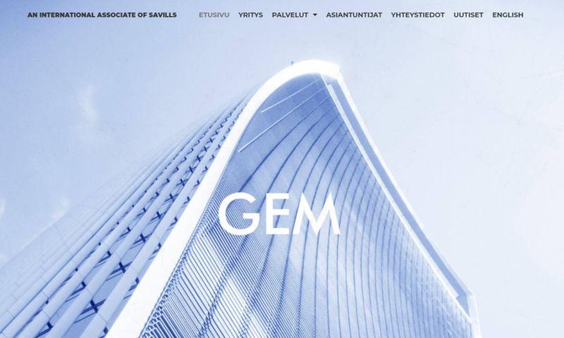 Sisu Digital - Web Design For GEM Property